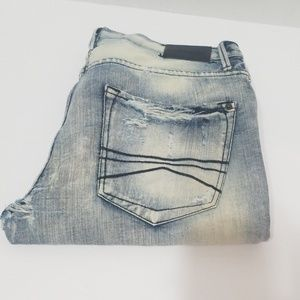 Express Distress Ripped Jeans